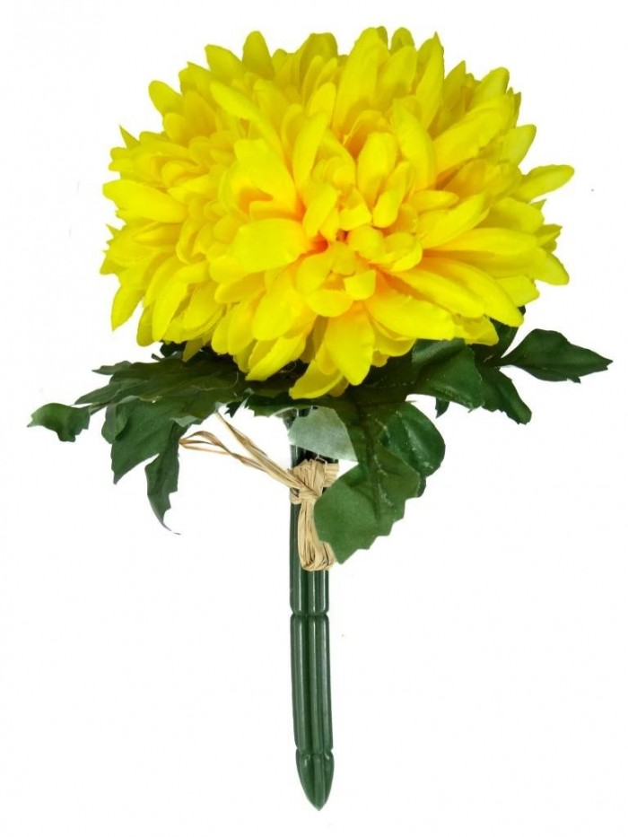 Buy Artificial Chrysanthemum Flower Bunch (yellow) Online