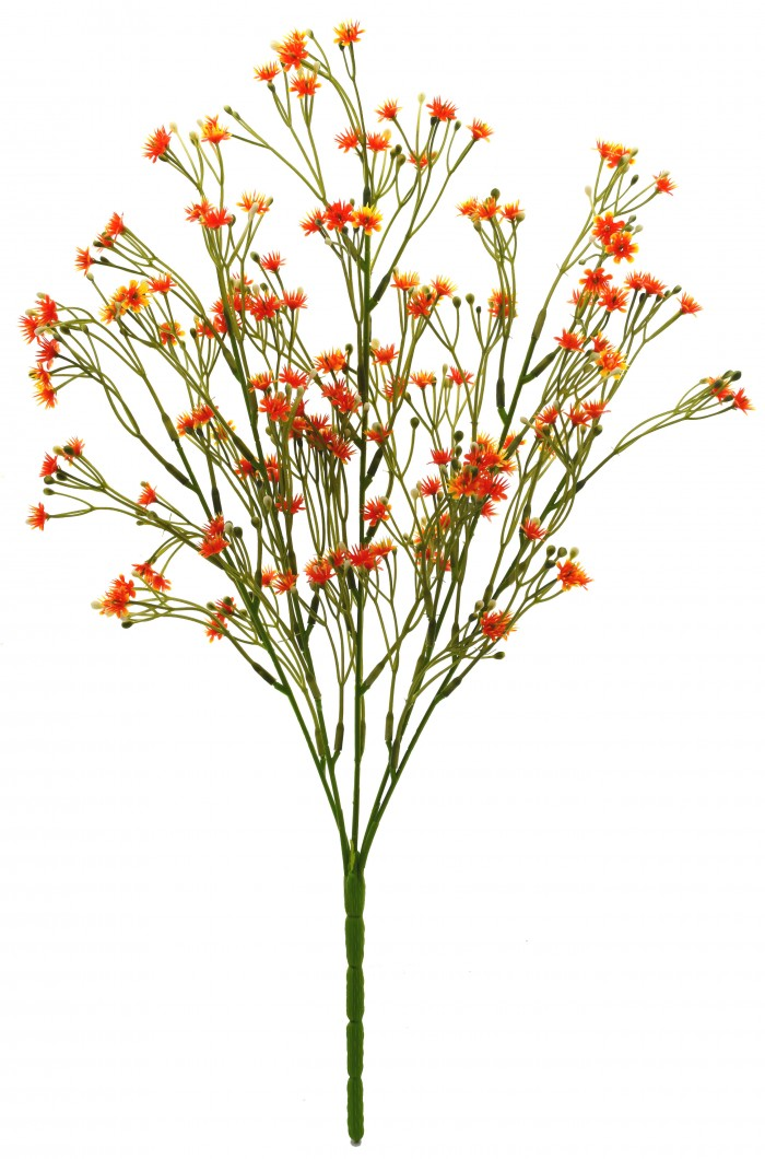 Buy Synthetic Gypso Flower (Set Of 1,orange) Online