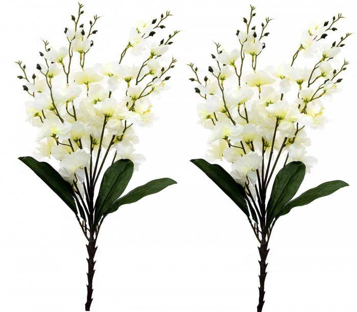 Buy Synthetic Feiyancao Flower Bunch-S2 (7 Branches,white) Online