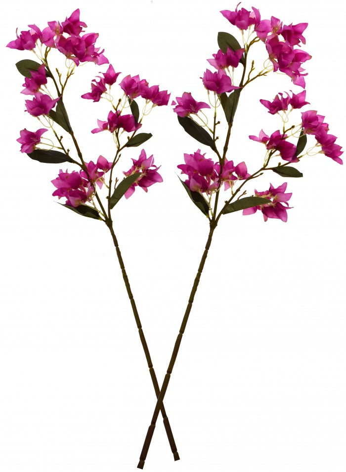 Buy Fourwalls Artificial  3 HD FLOWER  (Set Of 2,) Online