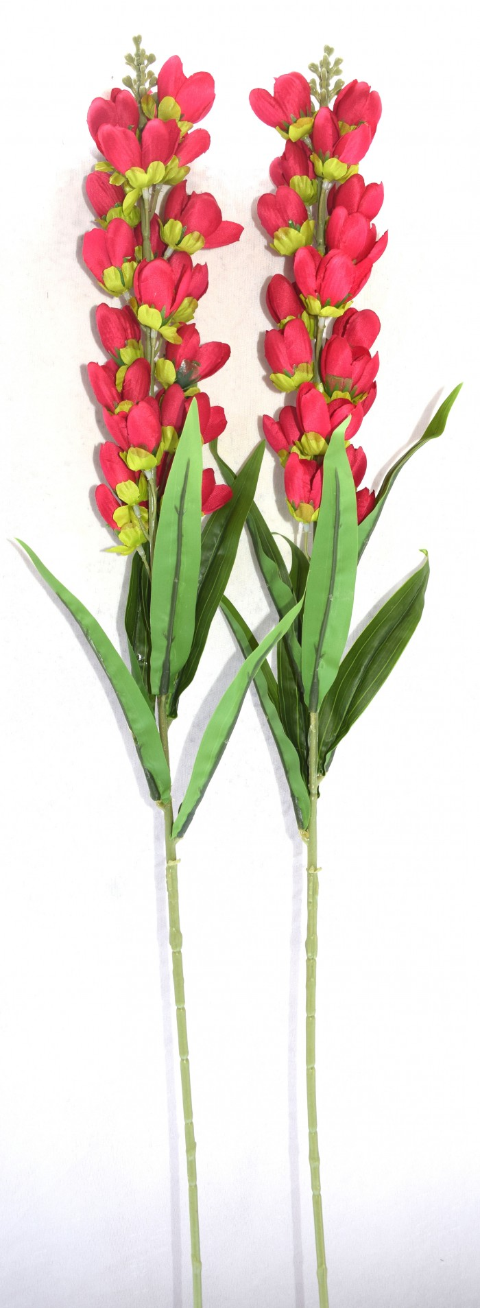 Buy Fourwalls Lovely Artificial Tulip Sticks (set-2,Red) Online