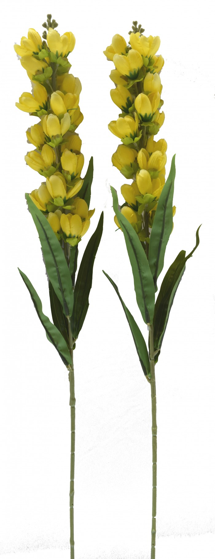 Buy Fourwalls Lovely Artificial Tulip Sticks (set-2,Yellow) Online