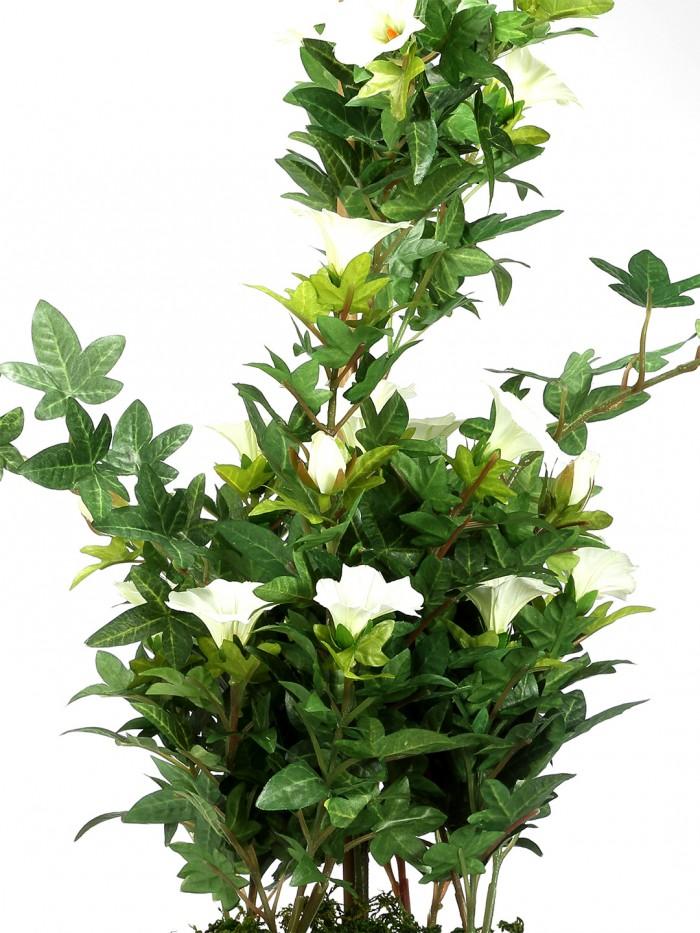 Buy Artificial Morning Glory Bonces Plant Wath Pot (63 Cm ) Online