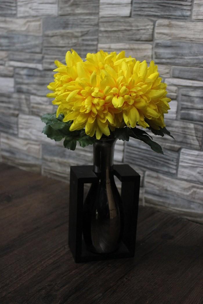 Buy Artificial Chrysanthemum Flower Bunch (yellow) Online