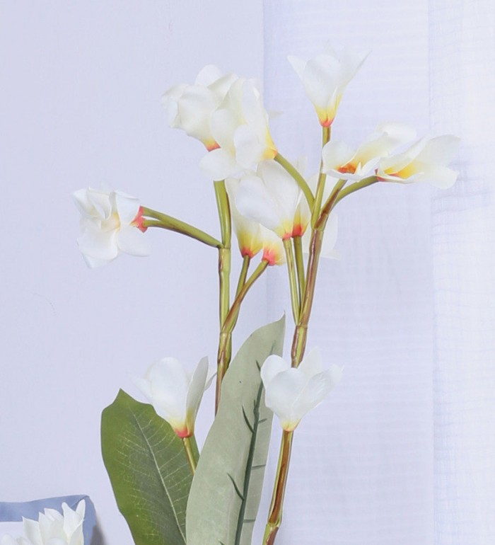 Buy Fourwalls Artificial Fourwalls FRANGIPANI (Set Of 3,) Online
