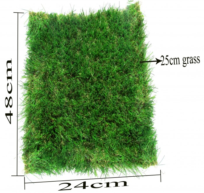 Buy Fourwalls UV Protected Synthetic Lawn Grass For Indoor/outdoor Use [Pile Height-25 Mm, 6.56 Ft X