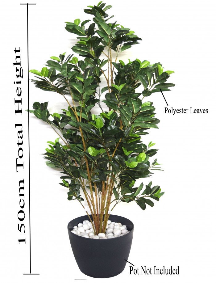 Buy 150 Cm Tall Decorative Artificial Quercus Plant Without Pot Online