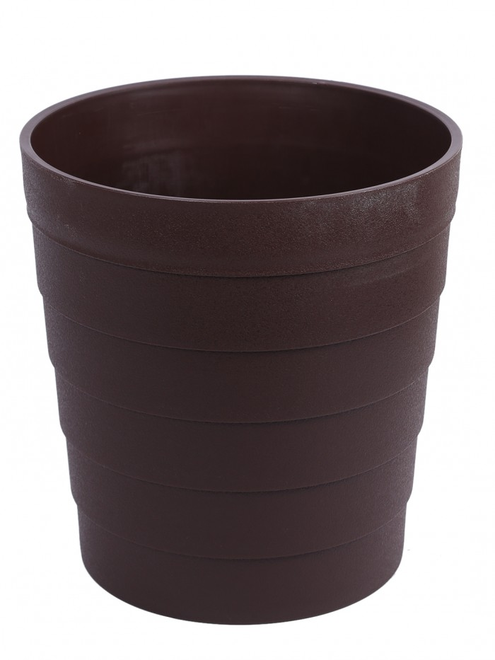 Buy Plastic Container For Plants And Trees (26 Cm Tall, Gray) Online