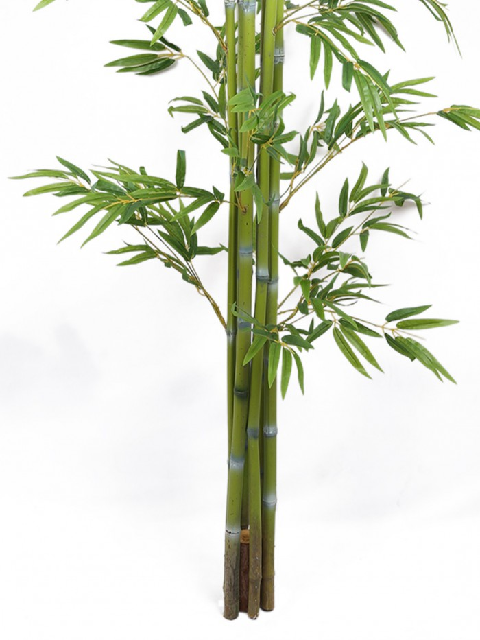 Buy Decorative Artificial Bamboo Floor Plant Without Pot (170 Cm Tall, Green) Online