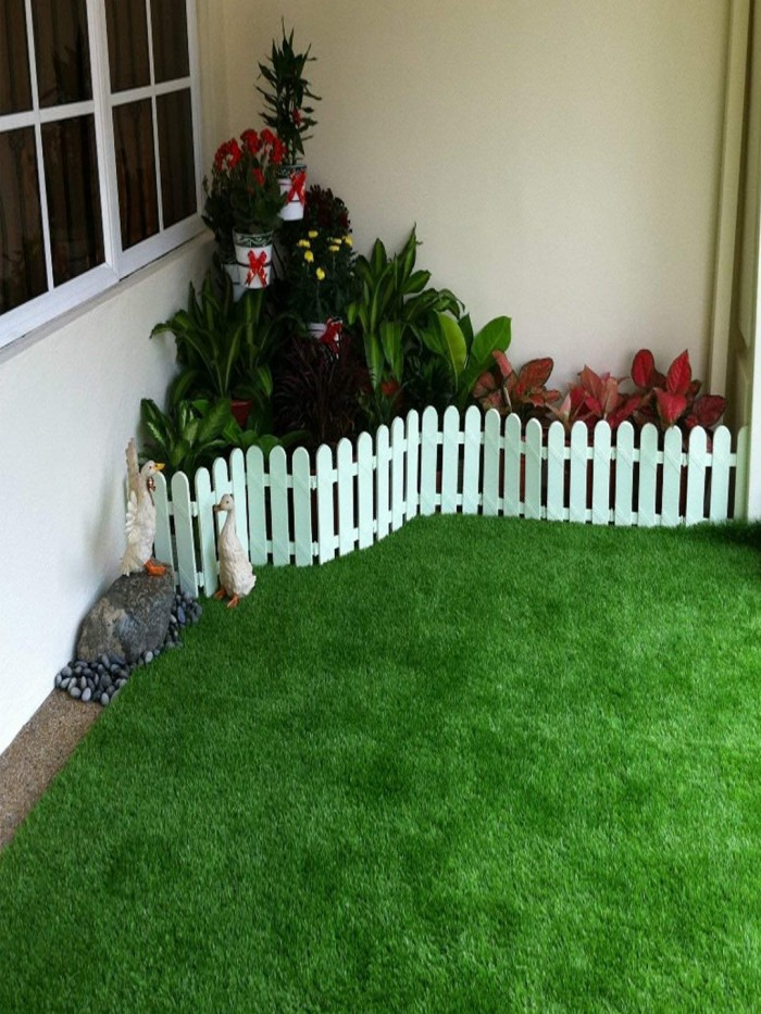 Buy UV Resistant Artificial Grass For Balcony, Doormat And Lawn [Pile Height-25 Mm, 6.56 Ft X 3.0 Ft