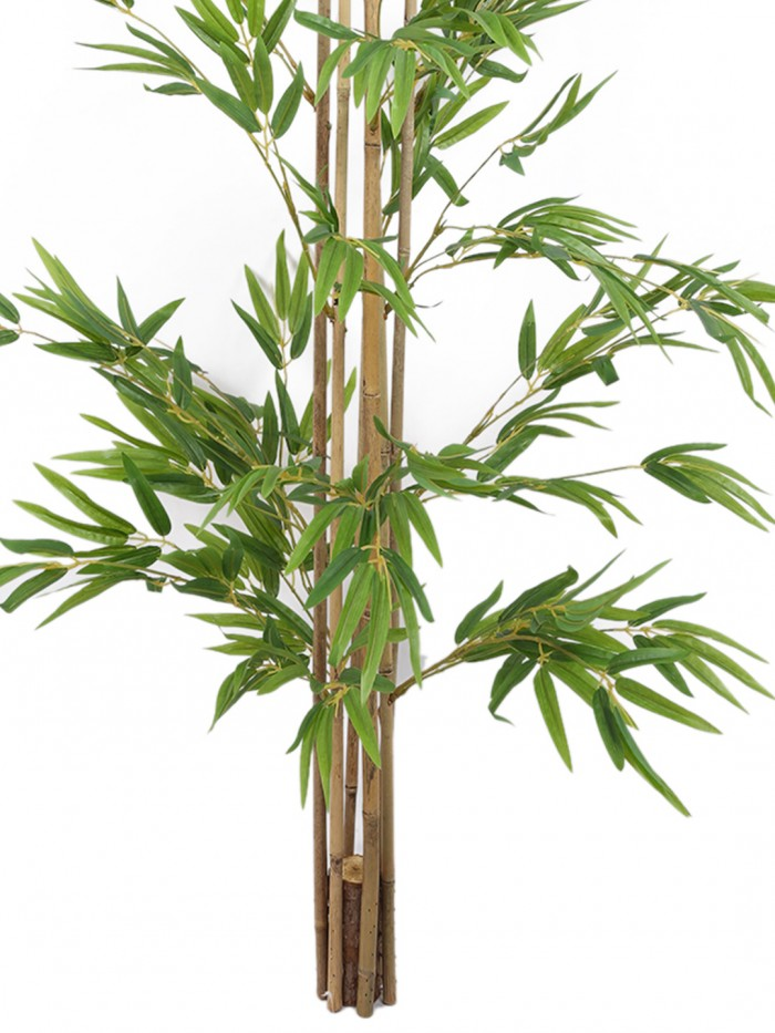 Buy Decorative Artificial Bamboo Floor Plant Without Pot (150 Cm Tall, Green) Online