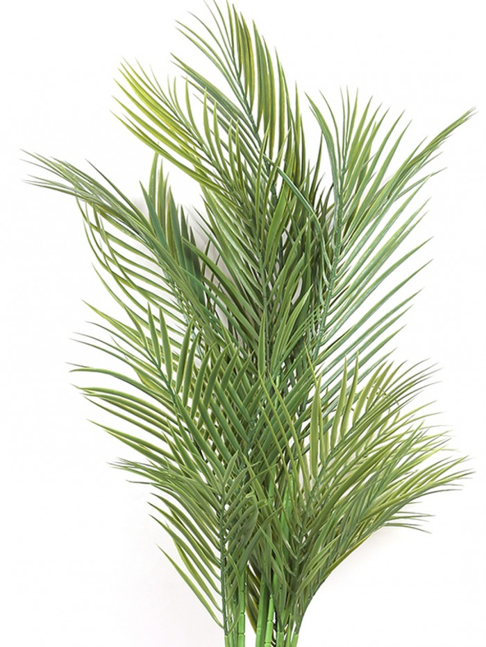 Buy Decorative Artificial Arica Floor Plant Without Pot (130 Cm Tall, 4 Branches, Green) Online