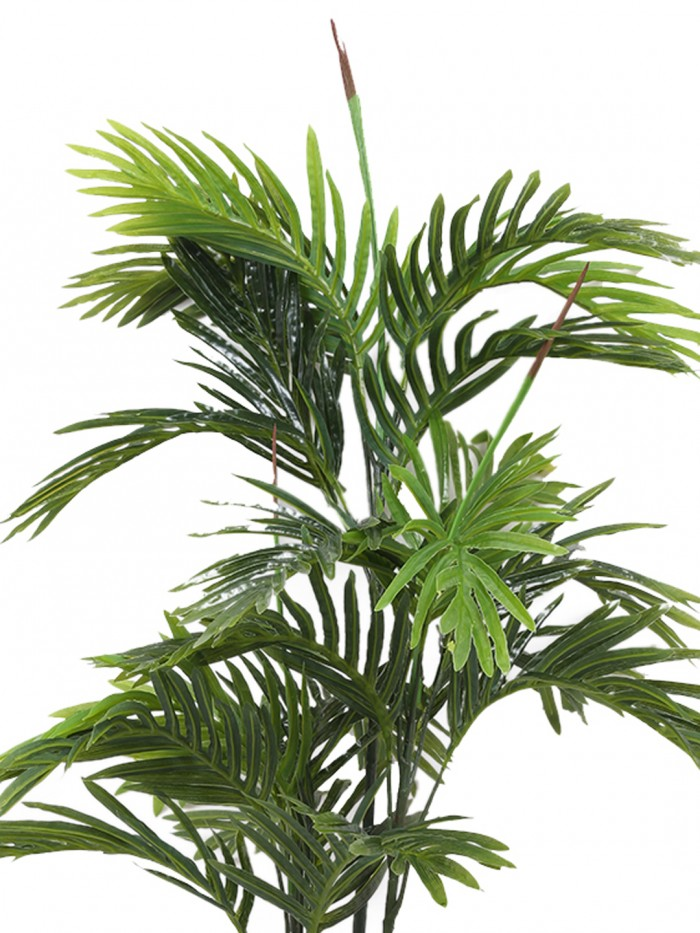 Buy Decorative Artificial Arica Floor Plant Without Pot (115 Cm Tall, Green) Online