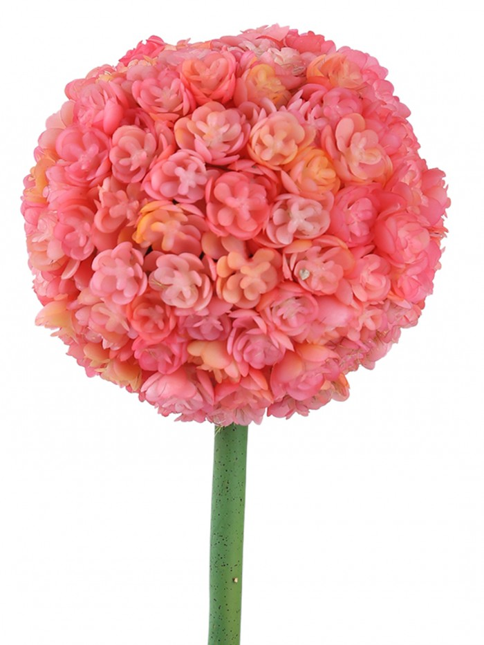 Buy Fourwalls Artificial Polyurethane And Plastic Real Touch Flower In A Pot (8 Cm X 8 Cm X 30 Cm, P