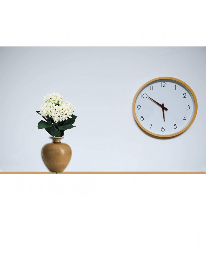 Buy Fourwalls Artificial Hydrangea Bouquet For Home, Events And Wedding Decor (48 Cm, White) Online