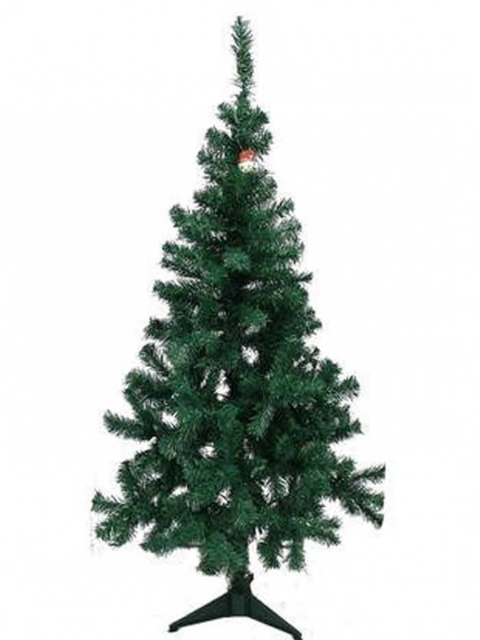 Buy Artificial Christmas Tree 3 FEET Tree 90 Cm, Natural Color (Green,) With Plastic Leaves, And Sta