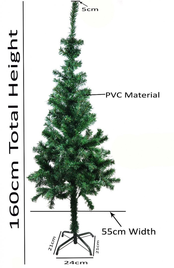 Buy Artificial Christmas Tree- 5 Feet Tall For Home And Office Decor Online