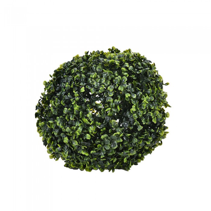 Buy PVC Plastic Artificial Eucalyptus Boxwood Topiary Grass Ball (28 Cm Total Diameter, Green) Onlin