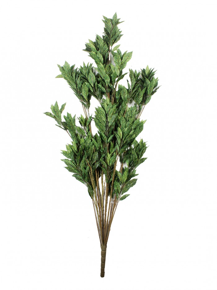 Buy Artificial Croton Floor Plant Without Pot (150 Cm Tall, Green/Yellow, 10 Branches) Online