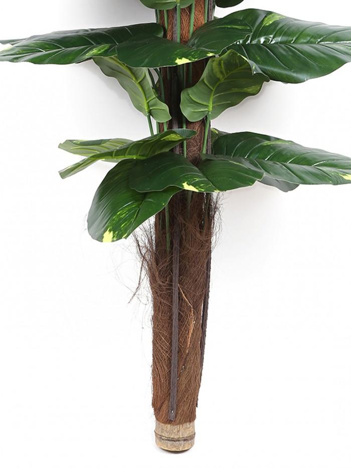 Buy Fourwalls Decorative Artificial Artificial Money Leaf Plant (Without Pot 120 Cm Without Pot) Onl