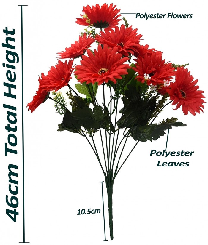 Buy Artificial Chrysanthemum Flower Bunch(yellow) Online