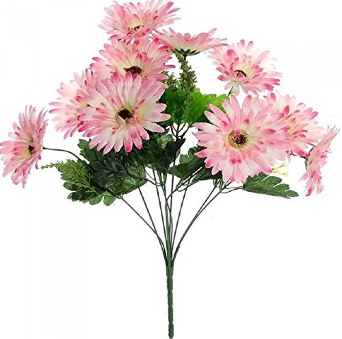 Buy Artificial Chrysanthemum Flower Bunch(Dark Pink) Online
