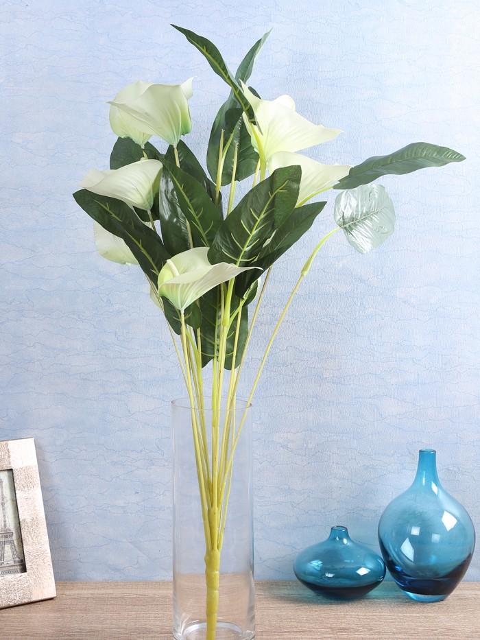 Buy Artificial Fuchsia Orchid Stems(Purple) Online