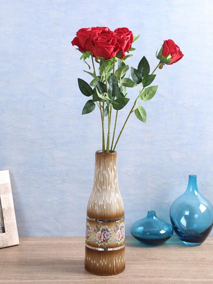 Buy 40cm Tall Artificial Gerbera Flower (Orange) Online