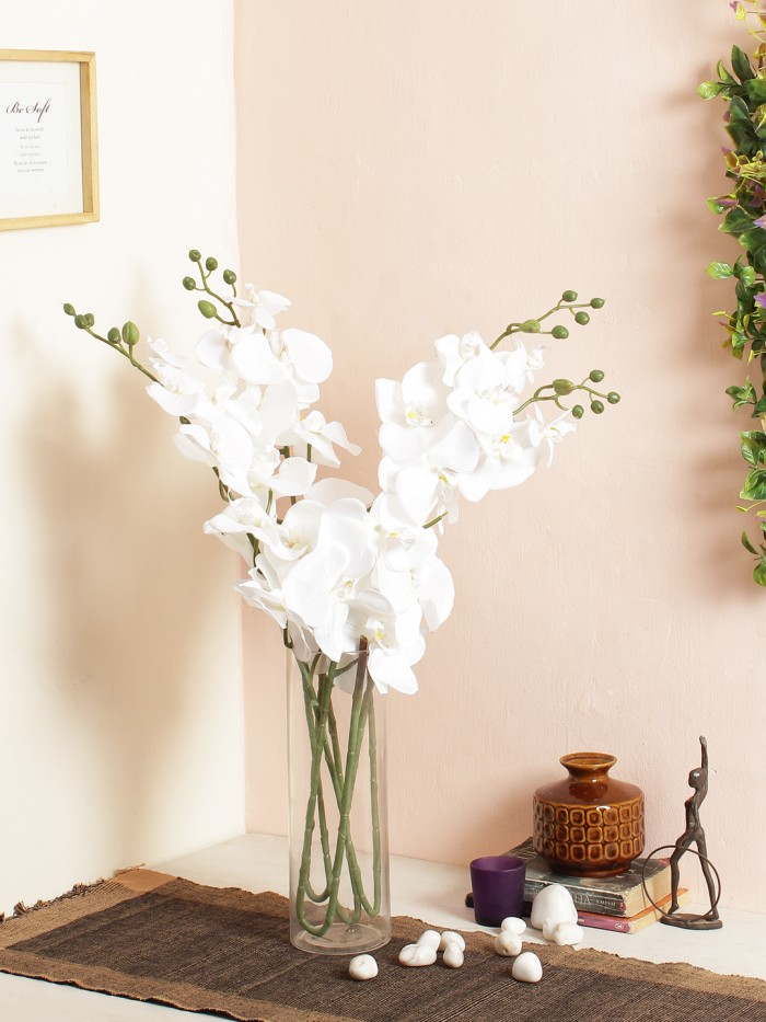 Buy Dazzling Artificial Butterfly Orchid (Purple) Online