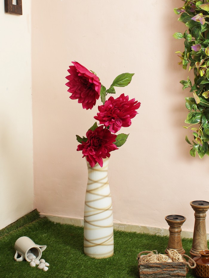 Buy Artificial Chrysanthemum Stems (Red) Online