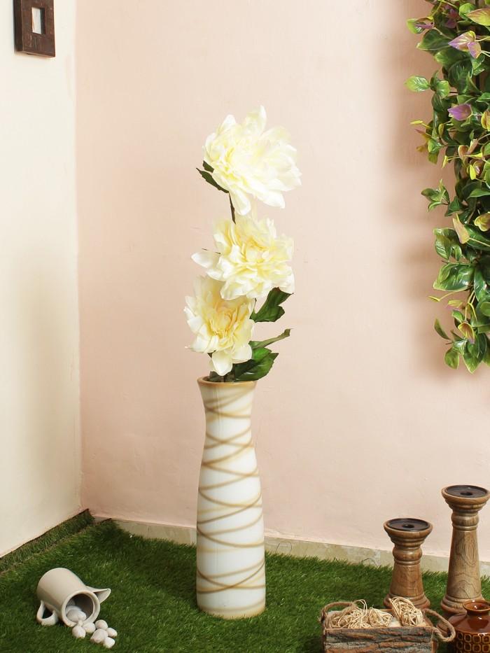 Buy Artificial Chrysanthemum Stems (white) Online