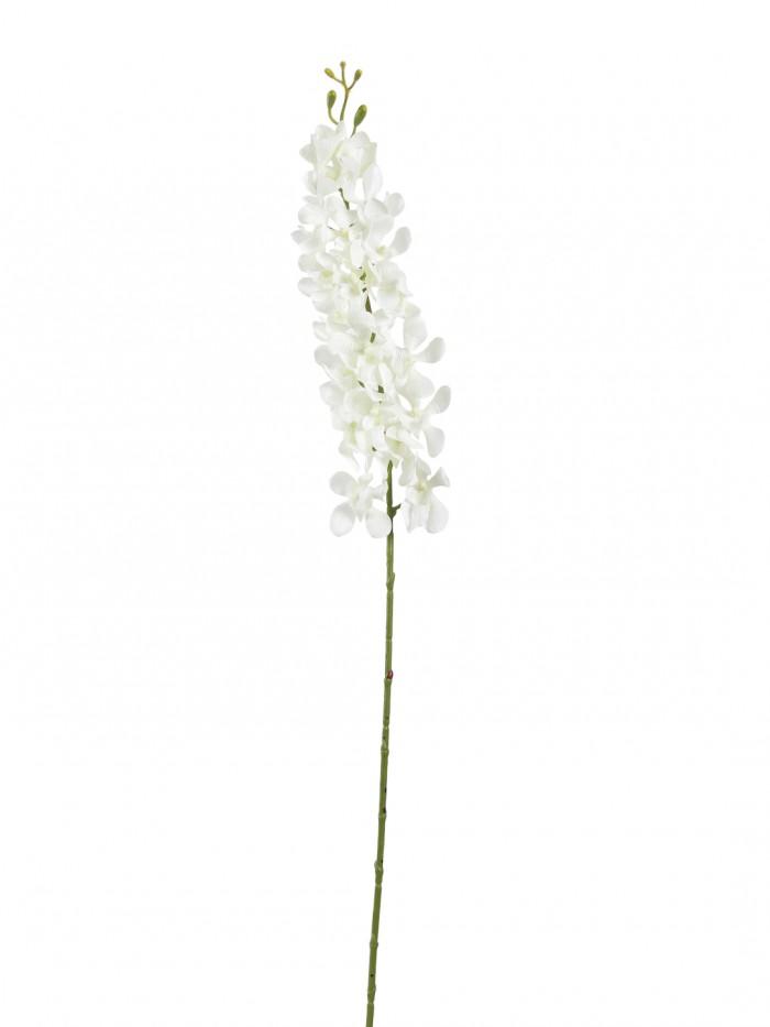 Buy Gorgeous Artificial Big Mokara Orchid (Set Of 2 White)) Online