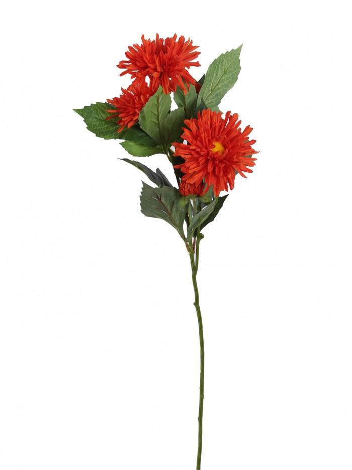 Buy Fuscia Flower (78 Cm X 24 Cm X 78 Cm, Orange) Online