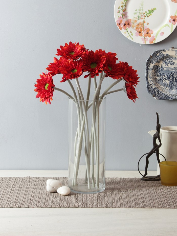 Buy Artificial Gerberas (Moroon) Online