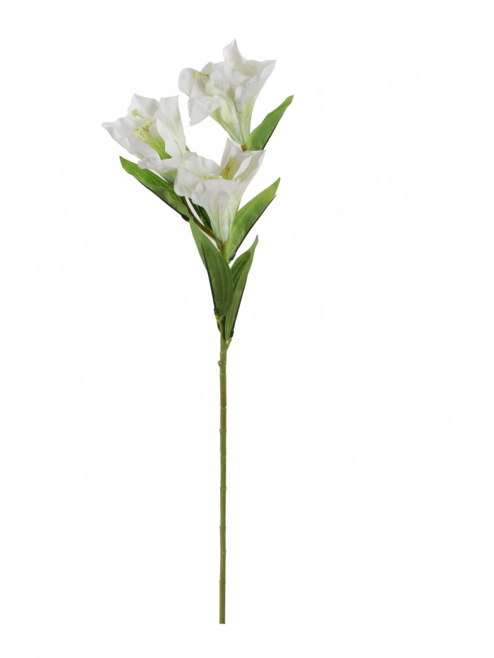 Buy Synthetic Habisicus Flower (3 Heads, Light Pink) Online