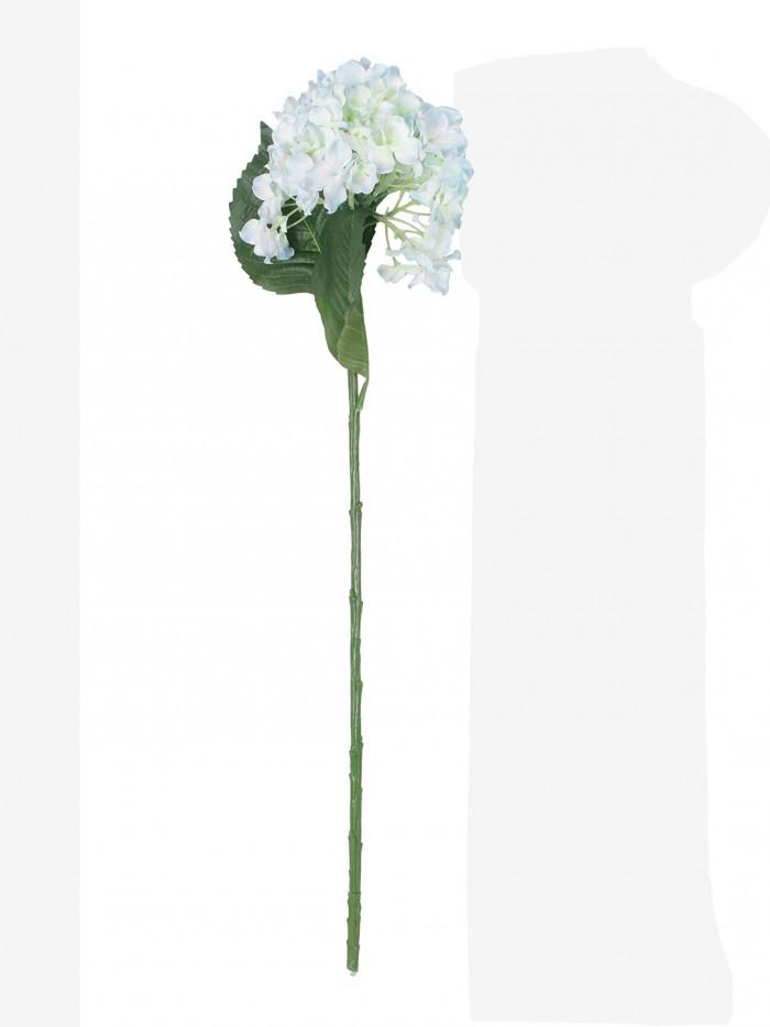 Buy Synthetic Hydrangea Flower (Set Of 2, 2 Sticks, Ight Purple) Online