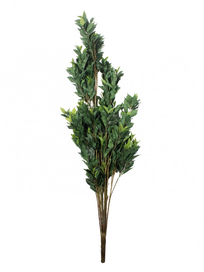 Buy Fourwalls Decorative Polyester Artificial Ficus Plant Without Pot (150 Cm, Green,) Online
