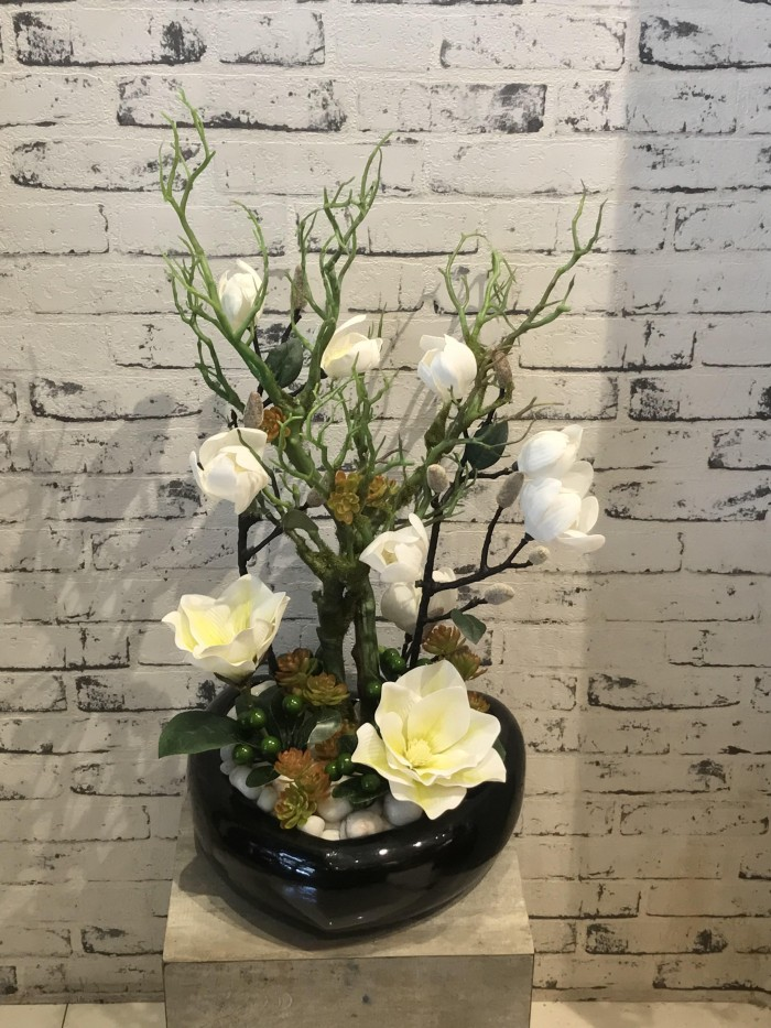 Buy Artificial Magnolia Floral Arrangement Online