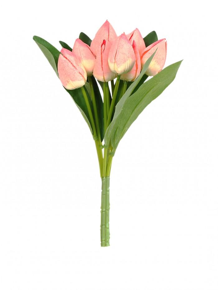 Artificial Tulip Bunch(Pech)