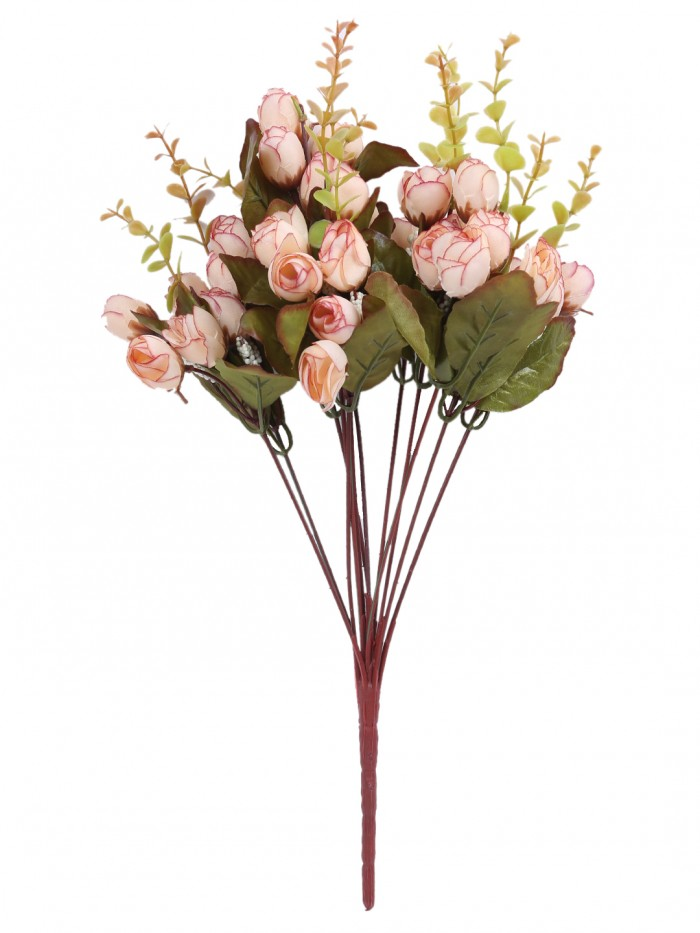 Buy Fourwalls Artificial Hydrangea Flower Bouquet (45 Cm, Dark Pink) Online