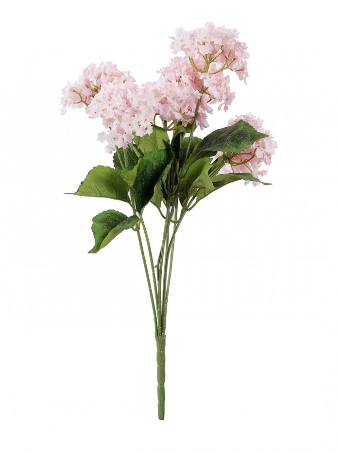 Buy Fourwalls Beautiful Artificial Hydrangea Bunch (Peach) Online