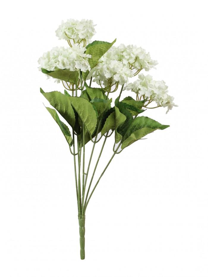 Buy Fourwalls Beautiful Artificial Hydrangea Bunch (Purple) Online