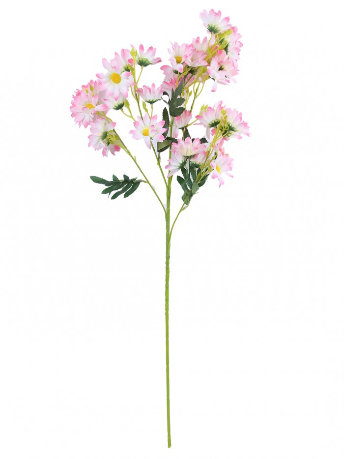 Buy Artificial Daisy Flower Stems (Set Of 2, Pink) Online in