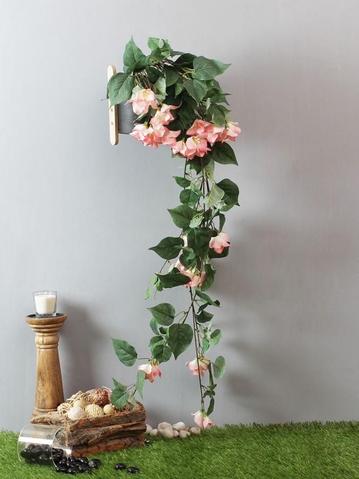 Buy Beautiful Peach Artificial Beautiful Bougainvillea Bush & 40 Inch Online