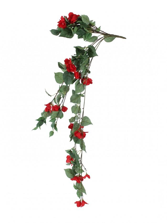 Buy Beautiful Red Artificial Beautiful Bougainvillea Bush & 40 Inch Online