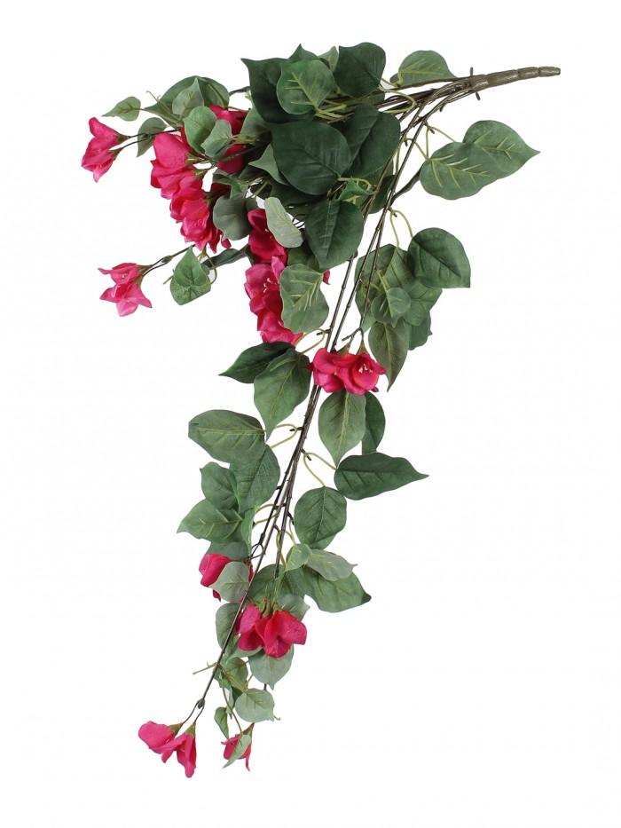 Buy Beautiful Pink Artificial Beautiful Bougainvillea Flower Bush & 32 Inch Online