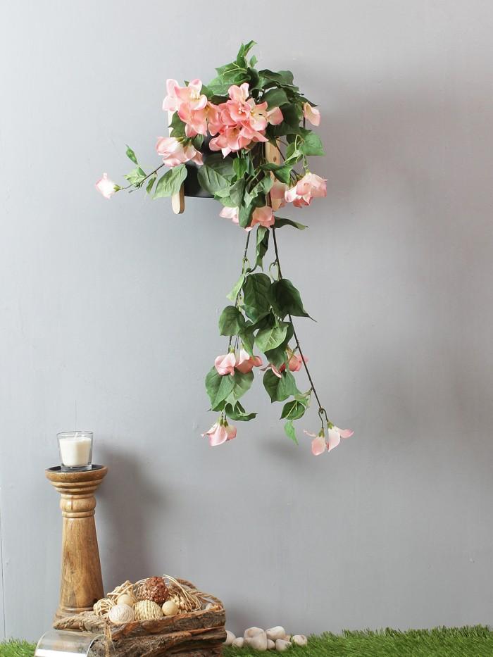Buy Beautiful White Artificial Beautiful Bougainvillea Flower Bush & 32 Inch Online