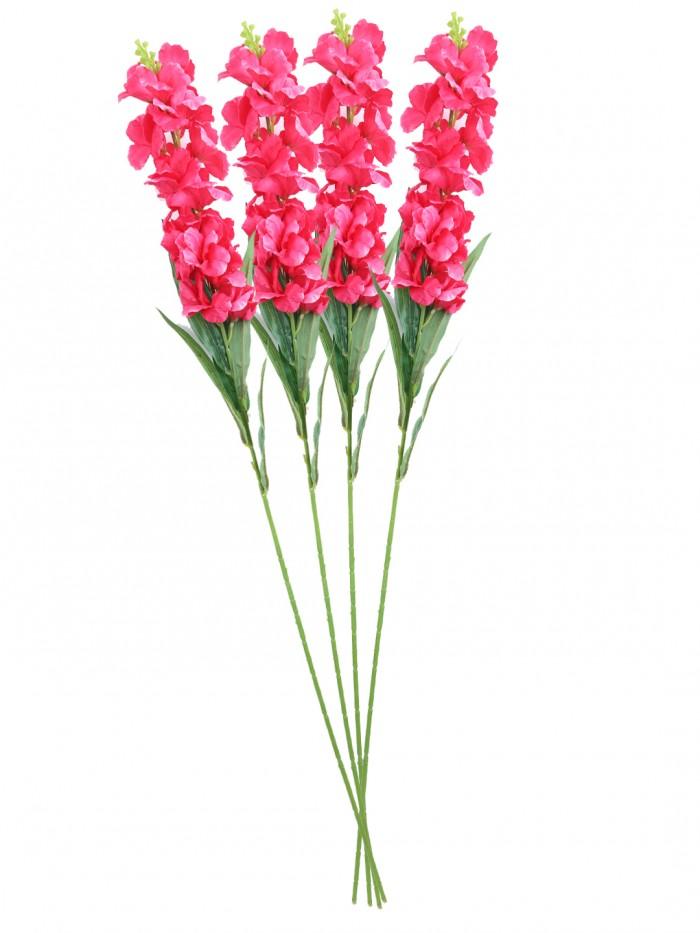 Buy Artificial Gorgeous Jasmine Flower Sticks (90 Cm Tall, Dark Pink, Set Of 4) Online
