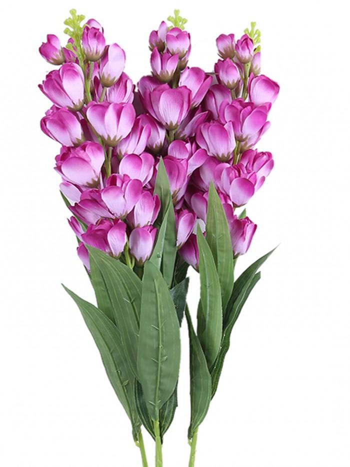 Buy Artificial Gorgeous Jasmine Flower Sticks (90 Cm Tall, Purple, Set Of 4) Online