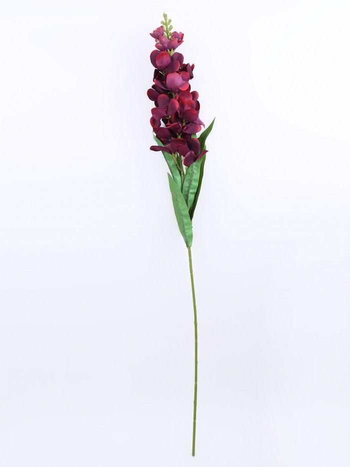 Buy Artificial Gorgeous Jasmine Flower Sticks (90 Cm Tall, Maroon, Set Of 4) Online